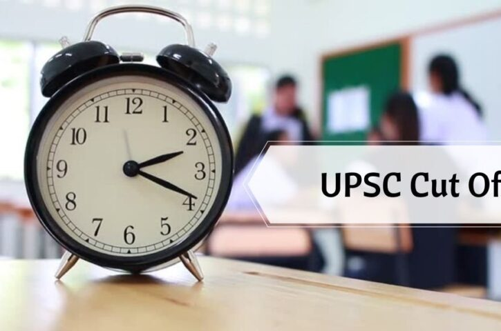 The trend of UPSC Cut-Off